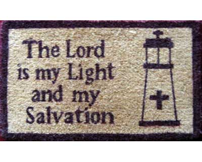 The Lord is my Light Doormat