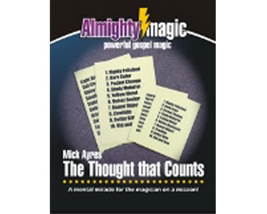 Mike Ayers' The Thought that Counts Magic Trick